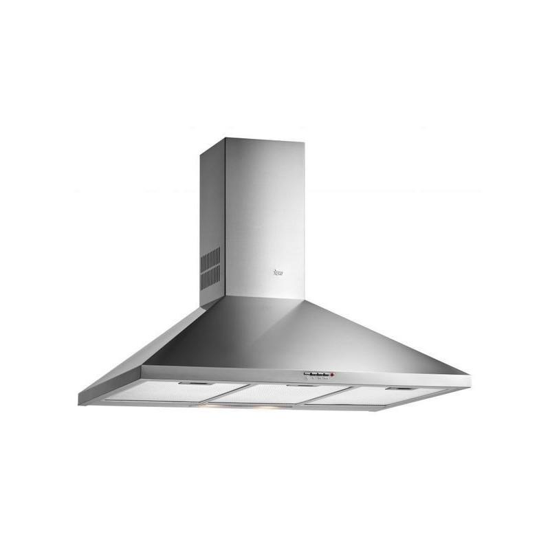Campana extractora de cocina decorativa teka dbb 60 inox en acero inoxidable forma piramidal de - Campanas cocina teka ...