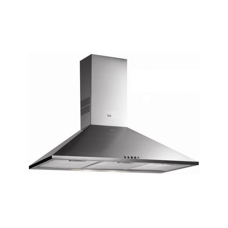 Campana extractora de cocina decorativa teka dbb 70 inox for Extractor de cocina de pared