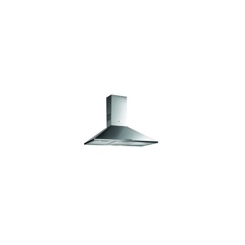 Campana extractora de cocina decorativa teka dbb 90 inox en acero inoxidable forma piramidal de - Campanas cocina teka ...