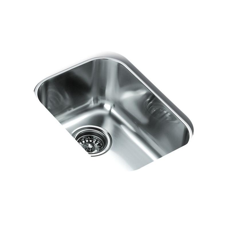 Fregadero teka be en acero inoxidable de una cubeta bajo encimera para instalaci n en - Fregaderos bajo encimera teka ...