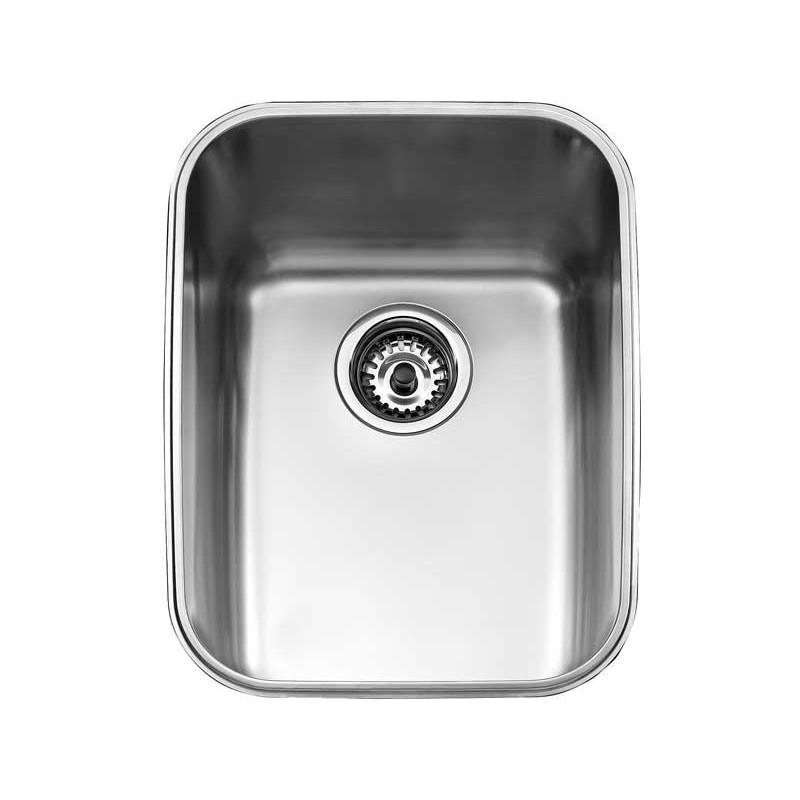 Fregadero teka be en acero inoxidable de una cubeta - Instalar un lavavajillas al fregadero ...