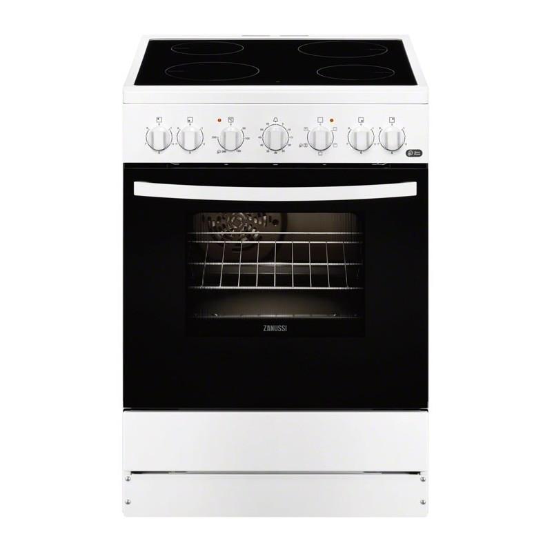 Cocina zanussi zcv65201wa 5 zonas horno grill blanco clase a for Cocina zanussi zcg61211xa