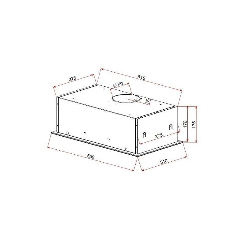 Grupo filtrante de cocina integrable teka gfg 2 blanco for Muebles de cocina 60 cm