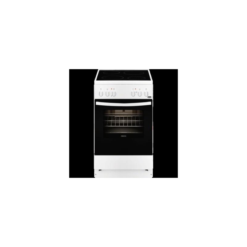 cocina zanussi zcv540g1wa 7 zonas horno grill blanco clase a