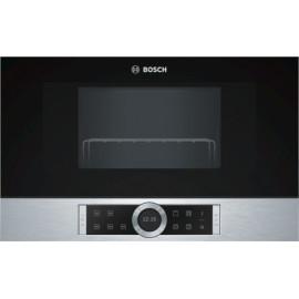 Microondas BOSCH BEL634GS1 integrable, 21 litros de capacidad, con grill