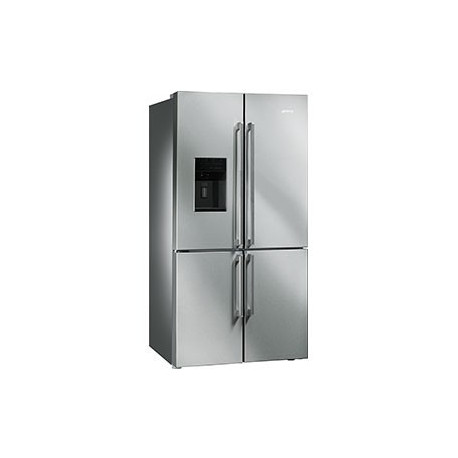 Frigorífico smeg FQ75XPED Side by Side No Frost inox clase A+