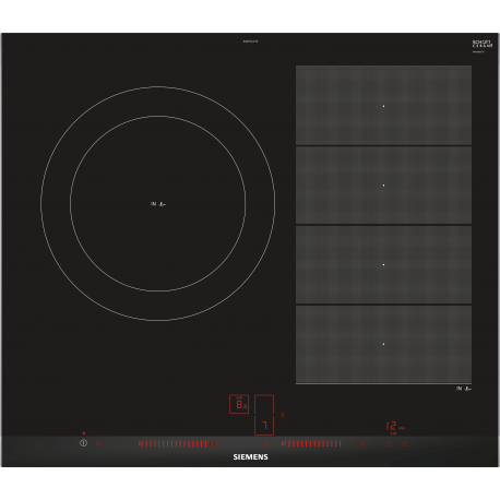 Encimera Simens EX675LJC1E Inducción Negro Zonas flexibles