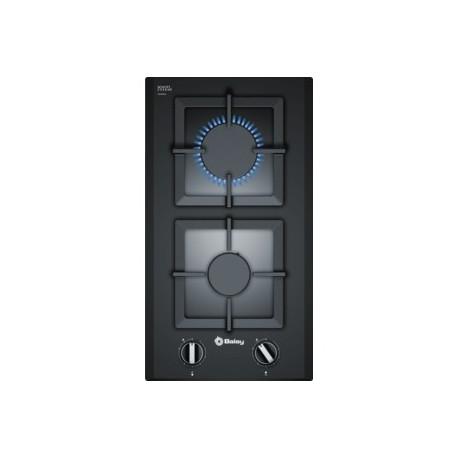 Encimera Balay 3ETG632HB Módulos de cocción Negro 2 zonas