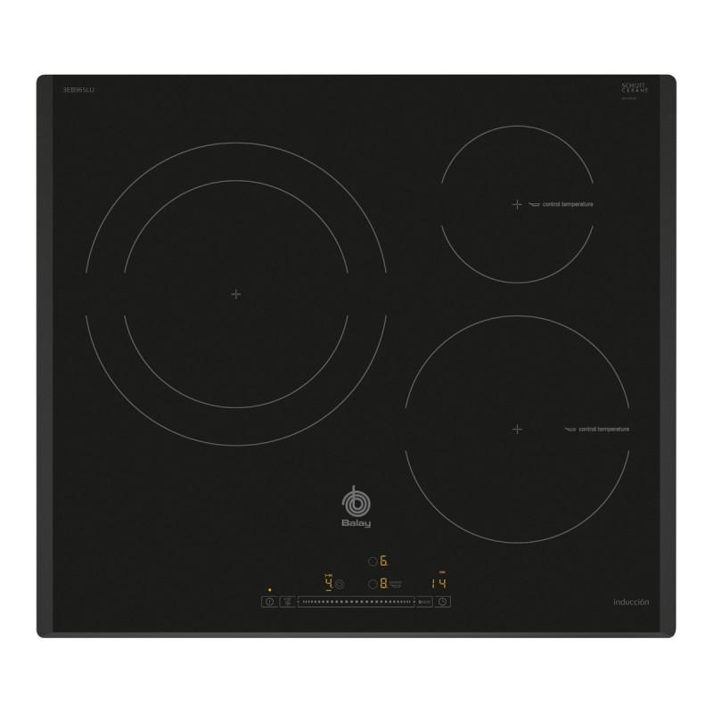 Encimera balay 3eb965lu inducci n negro 3 zonas - Cocinas de induccion balay ...