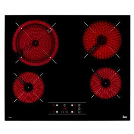 Encimera Teka TT 6420 40239021 Vitrocerámica Negro 4 zonas