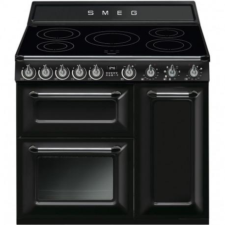 Cocina SMEG TR93IBL Cocinas A gas, Negro, Más de 4 zonas, Zona Gigante