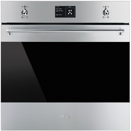 Horno multifuncion vapor SMEG SF6395XE , Inoxidable