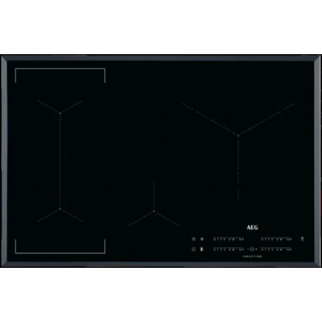 Encimera AEG IKE84445FB Inducción Negro Zonas flexibles Zona Gigante