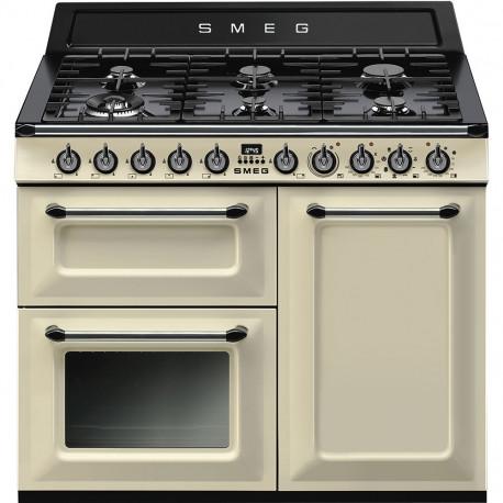 Cocina SMEG TR103P Cocinas a Gas Crema/Beig Más de 4 zonas, Zona Gigante