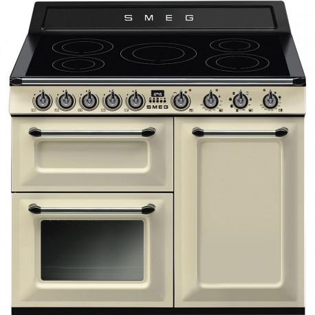 Cocina SMEG TR103IP Cocinas Eléctricas Crema/Beig Más de 4 zonas, Zona Gigante