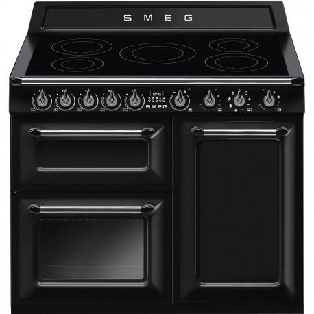 Cocina SMEG TR103IBL Cocinas Eléctricas Negro Más De 4 Zonas, Zona Gigante