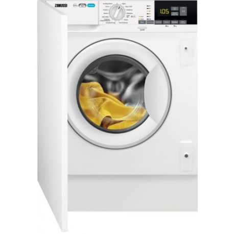 Lavadora secadora ZANUSSI ZWT816PCWA Integrable 8 Kg lavado 4 Kg secado 1600 rpm Clase A