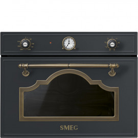 Microondas  SMEG SF4750MAO Integrable, Antracita