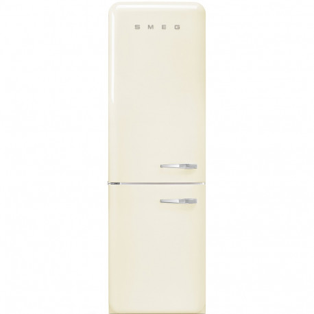 Combi SMEG FAB32LCR3, Crema/Beig, Solo congelador No Frost, Clase A+++