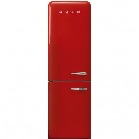 Combi SMEG FAB32LRD3, Rojo, Solo congelador No Frost, Clase A+++