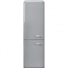 Combi SMEG FAB32LSV3, Silver/Gris, Solo congelador No Frost, Clase A+++