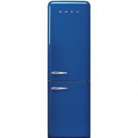 Combi SMEG FAB32RBE3, Azul, Solo congelador No Frost, Clase A+++
