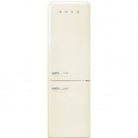 Combi SMEG FAB32RCR3, Crema/Beig, Solo congelador No Frost, Clase A+++