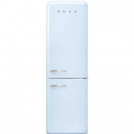 Combi SMEG FAB32RPB3, Azul celeste, Solo congelador No Frost, Clase A+++