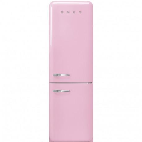 Combi SMEG FAB32RPK3, Rosa, Solo congelador No Frost, Clase A+++