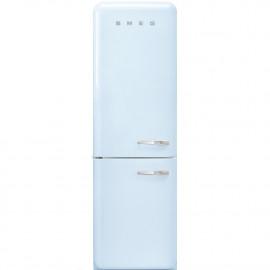 Combi SMEG FAB32LPB3, Azul celeste, Solo congelador No Frost, Clase A+++