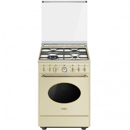 Cocina Smeg CO68GMP9 60x60 cm 4 fuegos crema  A