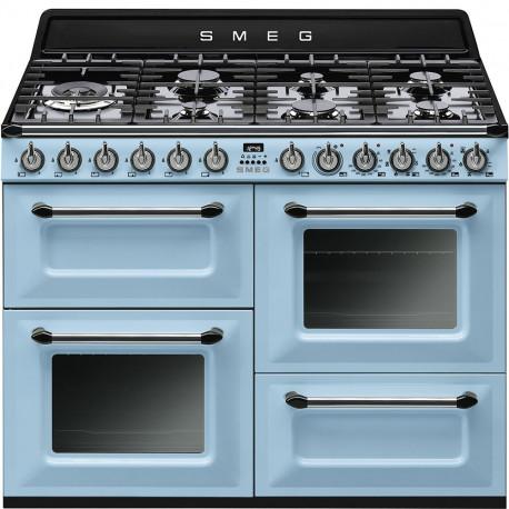 Cocina Smeg TR4110AZ 110x60 cm 7 fuegos azul A/A