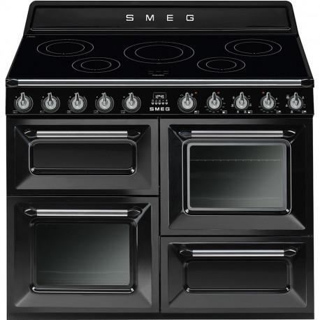 Cocina SMEG TR4110IBL, Negro, Más de 4 zonas, Zona Gigante