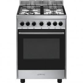 Cocina SMEG B601GMXI9 Cocinas a Gas Inoxidable 4 zonas,