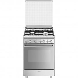 Cocina SMEG CX68MDS8 Cocinas a Gas Inoxidable 4 zonas,