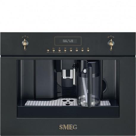 Cafetera SMEG CMS8451A, Integrable, Antracita