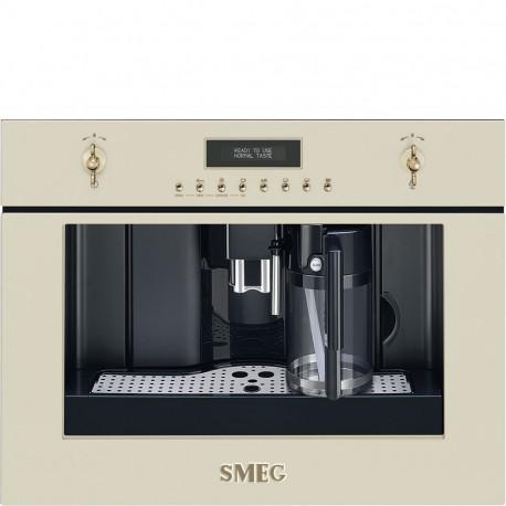 Cafetera SMEG CMS8451P, Integrable, Crema