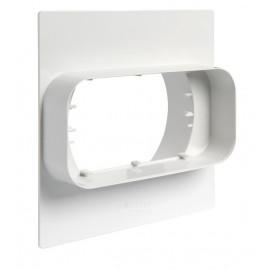 TECSY-AIR OPTIMO TECSY-AIR TEC496 OPTIMO 125 union por muros de tubo 150x70 a tubo ø100