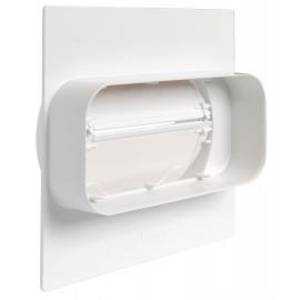 TECSY-AIR OPTIMO TECSY-AIR TEC493 OPTIMO 125 union por muros c/valvula antiretorno de tubo 150x70