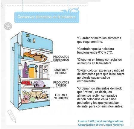 Como guardar los alimentos en el frigor fico for Como ordenar la nevera