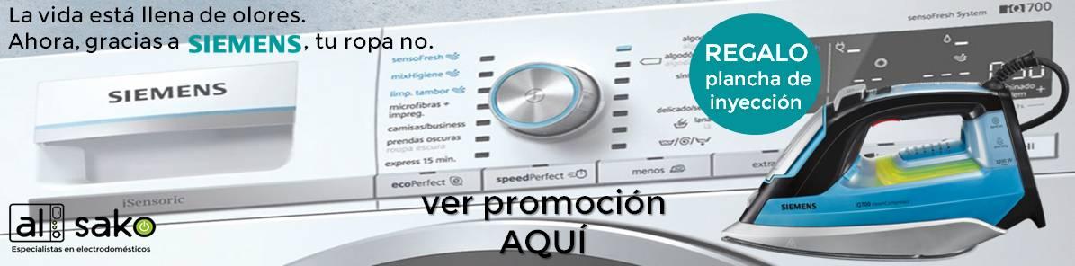 Promoción lavadoras Siemens Sensofresh