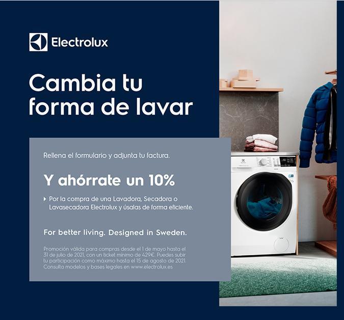Puedes acceder a un reembolso del 10% (ver productos adscritos a la promoción)