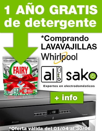 1 año de detergente fairy (ver productos adscritos a la promoción)