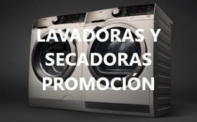 Lavadoras y secadoras en promoción San Valentín 2018