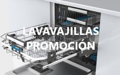 Lavavajillas en promoción San Valentín 2018.