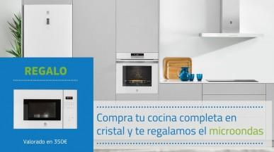 Promoción Balay Cocinas serie cristal. REGALO DE UN MICROONDAS.