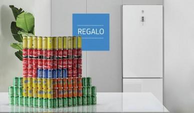 Promoción Balay frigoríficos cristal, ¡100 latas de regalo!