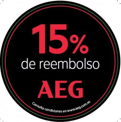 Recibe hasta un 15% de reembolso por la compra de un horno, encimera o campana AEG